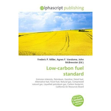Alphascript Publishing Low-carbon fuel standard