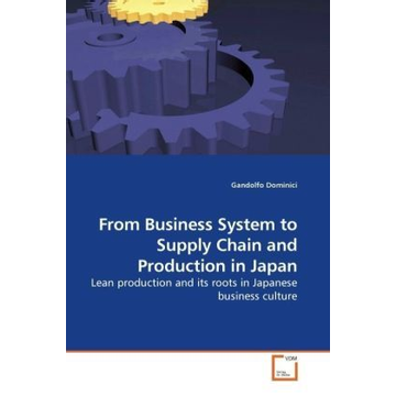 Dominici, Gandolfo From Business System to Supply Chain and Production in Japan - Lean production and its roots in Japanese business culture