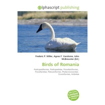 Alphascript Publishing Birds of Romania