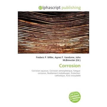 Alphascript Publishing Corrosion
