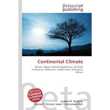Betascript Publishing Continental Climate