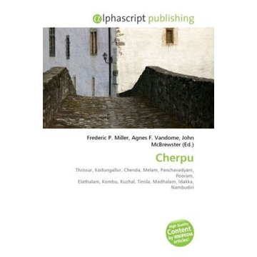 Alphascript Publishing Cherpu