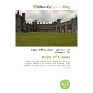 Alphascript Publishing Anne of Cleves