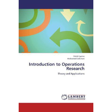 Lyeme, Halidi Introduction to Operations Research - Theory and Applications