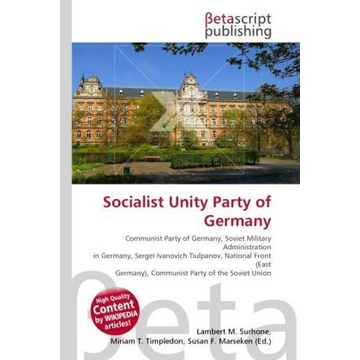 Betascript Publishing Socialist Unity Party of Germany