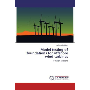 Villalobos, Felipe Model testing of foundations for offshore wind turbines - Suction caissons