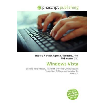 Alphascript Publishing Windows Vista