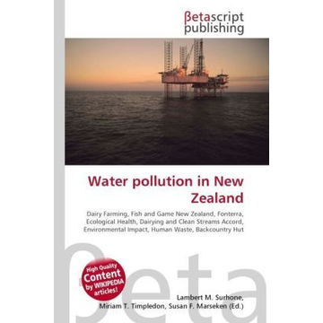 Betascript Publishing Water pollution in New Zealand