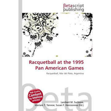 Betascript Publishing Racquetball at the 1995 Pan American Games