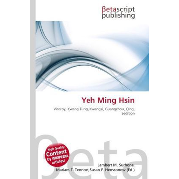 Betascript Publishing Yeh Ming Hsin