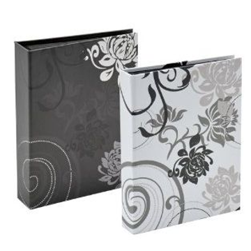 Walther Walther Design Grindy photo album Black, Grey 24 sheets 13x18cm