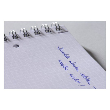 Avery Zweckform Avery 7023 writing notebook A5 90 sheets Black, White
