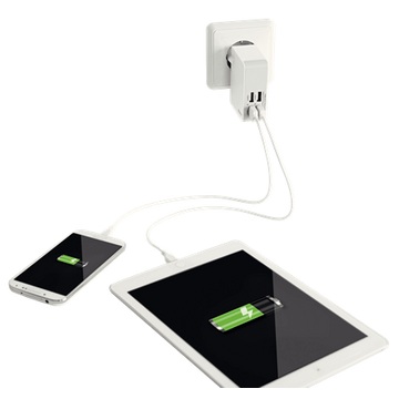 Esselte 62190001 mobile device charger White Indoor