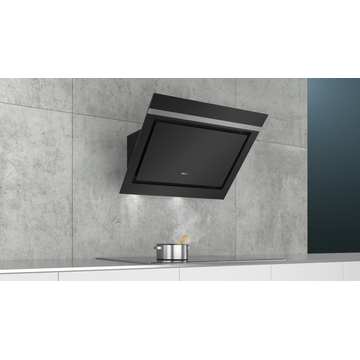 Siemens LC87KIM60 cooker hood Wall-mounted Black, Stainless steel 670 m³/h A