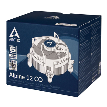 Arctic Cooling ARCTIC Alpine 12 CO - Compact Intel CPU-Cooler for Continuous Operation