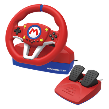FLASHPOINT Hori NSW-204U Gaming Controller Black, Blue, Red, White USB Steering wheel + Pedals Analogue Nintendo Switch