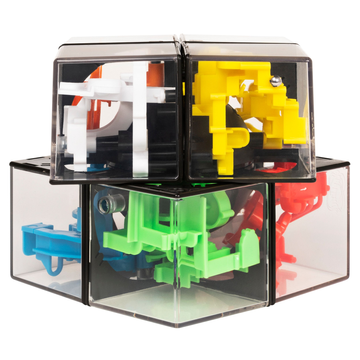 Spin Master Spin Master Games Rubik's Perplexus Hybrid 2 x 2, Challenging Puzzle Maze Ball Skill Game for Ages 8 & Up