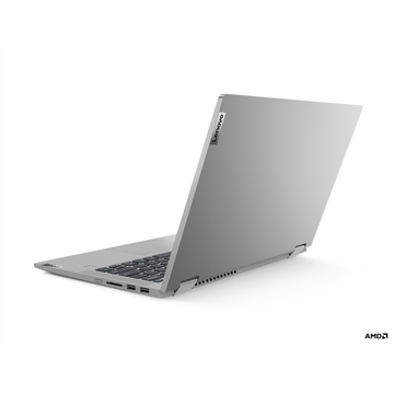 MEDION Lenovo IdeaPad Flex 5 DDR4-SDRAM Hybrid (2-in-1) 35,6 cm (14 Zoll) 1920 x 1080 Pixel Touchscreen AMD Ryzen 5 8 GB 512 GB SSD Wi-Fi 6 (802.11ax) Windows 10 Home Grau, Platin