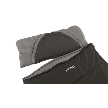 Outwell Outwell Contour Adult Rectangular sleeping bag Polyester Black