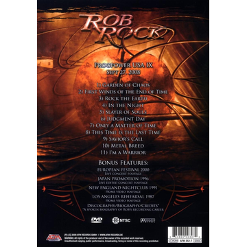 Rob Rock The Voice Of Melodic Metal Live In Atlanta