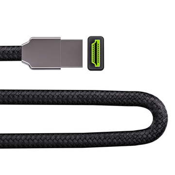 Green Cell HDGC02 HDMI cable 3 m HDMI Type A (Standard) Black