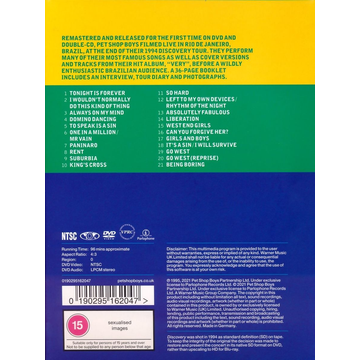 Pet Shop Boys Discovery (Live in Rio)
