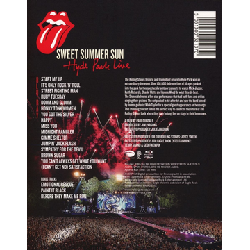 Rolling Stones,The Sweet Summer Sun-Hyde Park Live (Bluray)