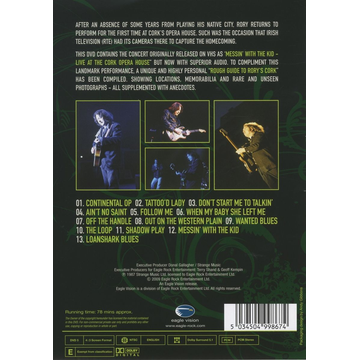 Gallagher,Rory Live In Cork (DVD)