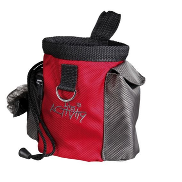 TRIXIE TRIXIE 32283 dog treat bag Polyester Grey, Red