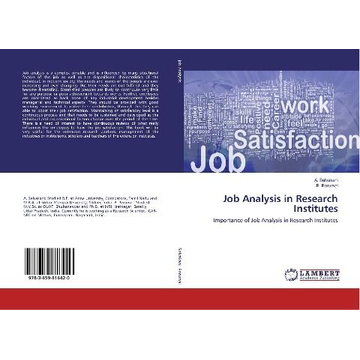 Selvakani, A. Job Analysis in Research Institutes
