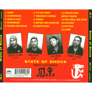 D.I. State Of Shock