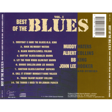 Various Artists Best of the Blues, Vol. 1 [Cema]