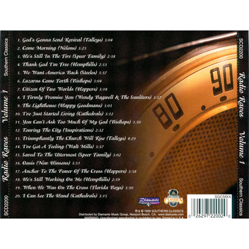 Various Artists Radio Raves: Southern Gospel's Top #1 Songs Over the Past 25 Years, Vol. 1