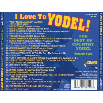Various I Love To Yodel!: The Best Of Country Yodel, Vol. 2