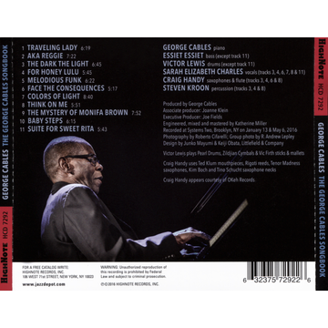 Cables,George George Cables Songbook