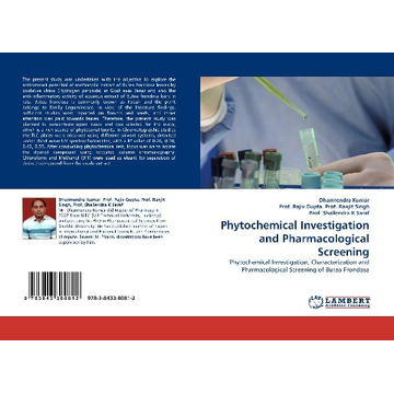 Kumar, Dharmendra Phytochemical Investigation and Pharmacological Screening
