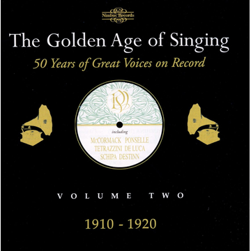 Various Golden Age of Singing Vol.2 (1910-20)
