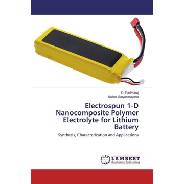 Padmaraj, O. Electrospun 1-D Nanocomposite Polymer Electrolyte for Lithium Battery - Synthesis, Characterization and Applications