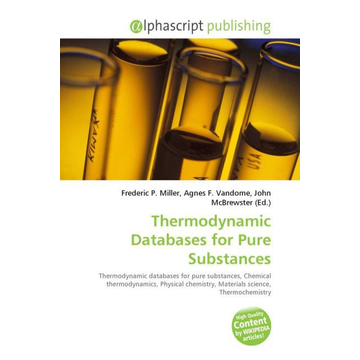 Alphascript Publishing Thermodynamic Databases for Pure Substances