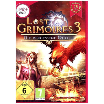 S.A.D. Software Lost Grimoires 3, Die vergessene Quelle, 1 DVD-ROM - Wimmelbild-Adventure