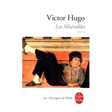 VICTOR HUGO Le Livre de Poche LES MISERABLES T.2) book French Paperback 1056 pages