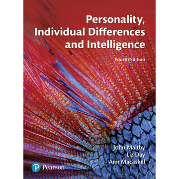 Day, Liz Personality, Individual Differences and Intelligence
