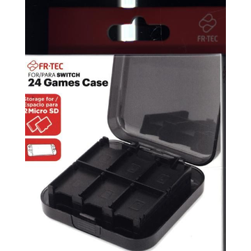 24 Games Case for Switch - Storage for 24 Micro SD