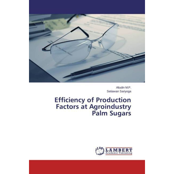 M.P., Aliudin Efficiency of Production Factors at Agroindustry Palm Sugars