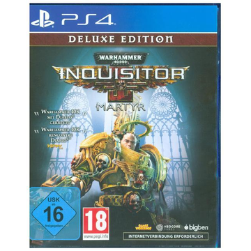 Warhammer 40.000, Inquisitor Martyr, 1 PS4-Blu-ray Disc (Deluxe Edition) - Für PlayStation 4