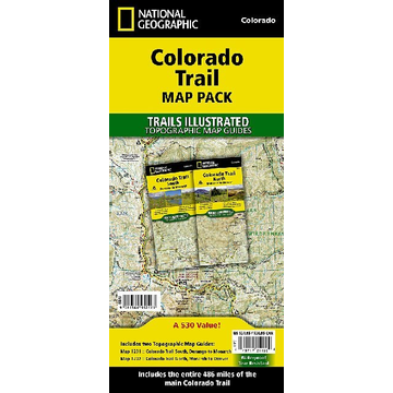 National Geographic Maps Colorado Trail [Map Pack Bundle]