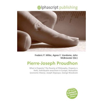 Alphascript Publishing Pierre-Joseph Proudhon