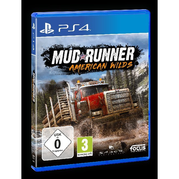 GAME MudRunner, American Wilds, 1 PS4-Blu-ray Disc