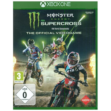 Big Ben Interactive Monster Energy Supercross, 1 XBox One-Blu-ray Disc - The Official Videogame