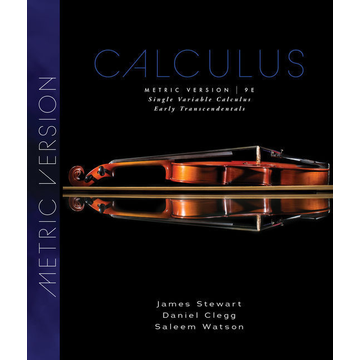 Stewart, James Single Variable Calculus - Early Transcendentals, Metric Edition